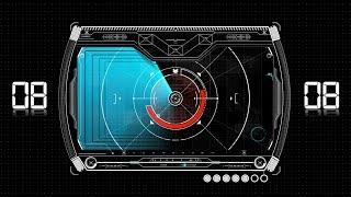Countdown Timer 30 sec ( v 484 ) Radar Timer with sound effects HD 4k!