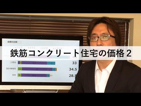 鉄筋コンクリート住宅の価格2【RCTV-8】