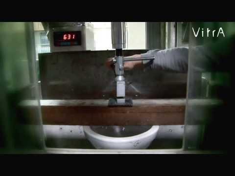 Подвесной унитаз тест на максимальную нагрузку - 900кг