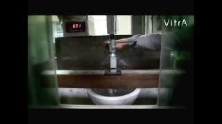 Подвесной унитаз тест на максимальную нагрузку - 900кг(Подвесной унитаз Vitra выдерживает нагрузку до 900кг. Посмотри как испытывают подвесной унитаз Vitra на заводе...., 2013-06-29T15:41:39.000Z)