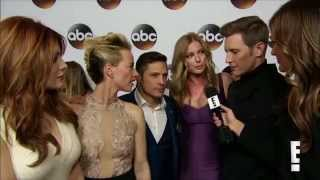 revenge cast interview at the tca