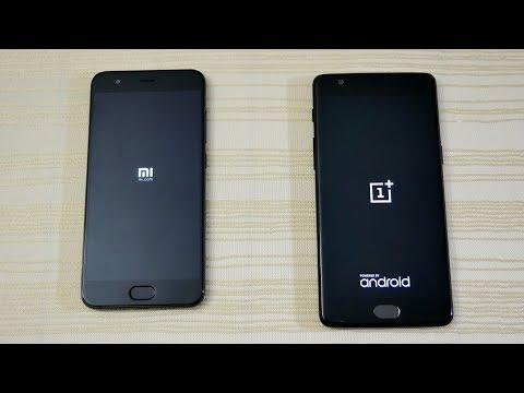 Xiaomi Mi6 vs OnePlus 3T - Speed Test! (4K)