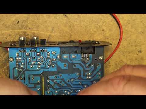 JW A5 Mono MP3 Power amp boom box build