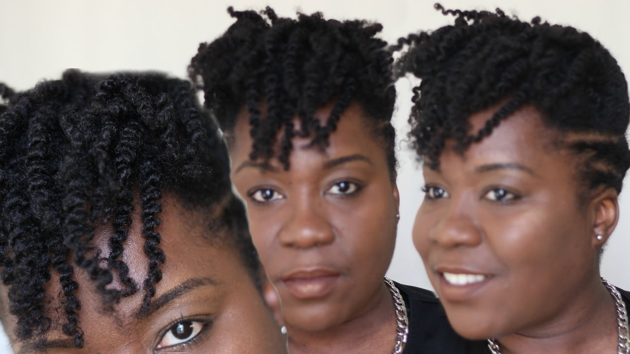 Faux Tapered Natural Hair