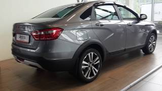 Фото ЛАДА Веста Кросс седан 2018 года. LADA Vesta Cross Sedan 2018.