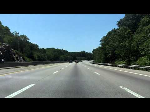 Massachusetts Turnpike (Interstate 90 Exits 13 to 11A) westbound