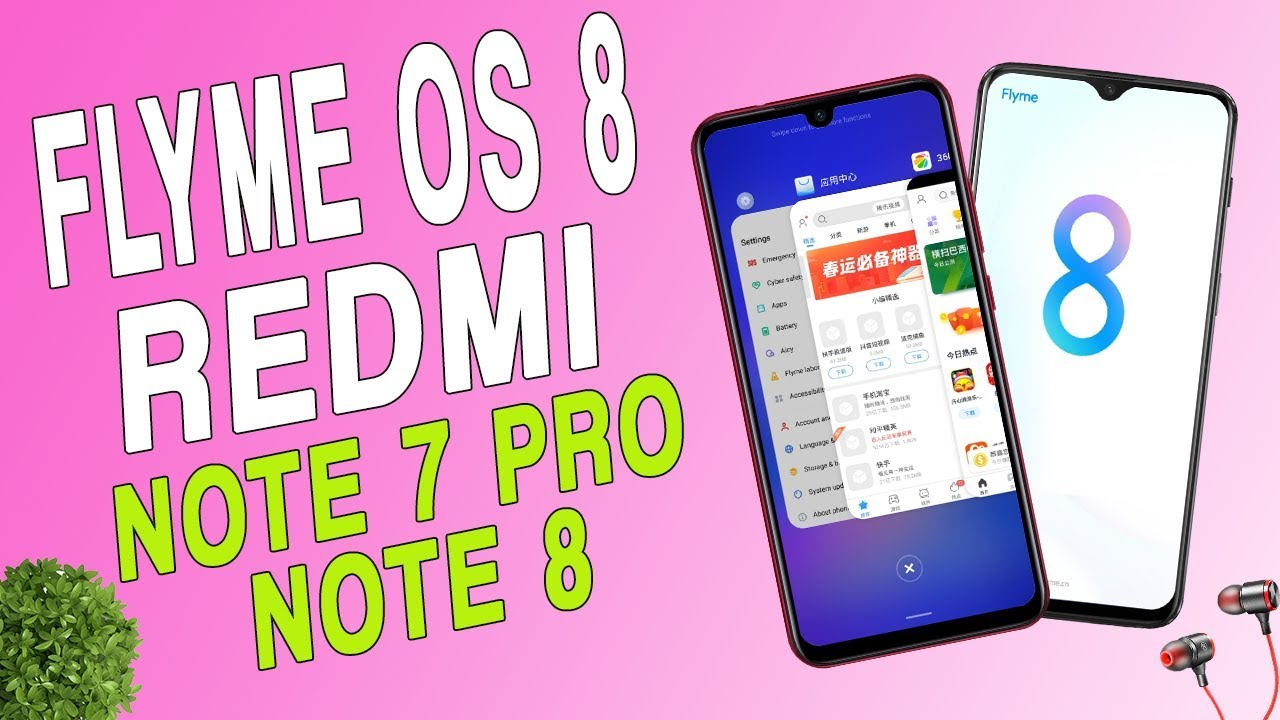 Install Flyme OS 8 On Redmi Note 8 and Note 7 Pro