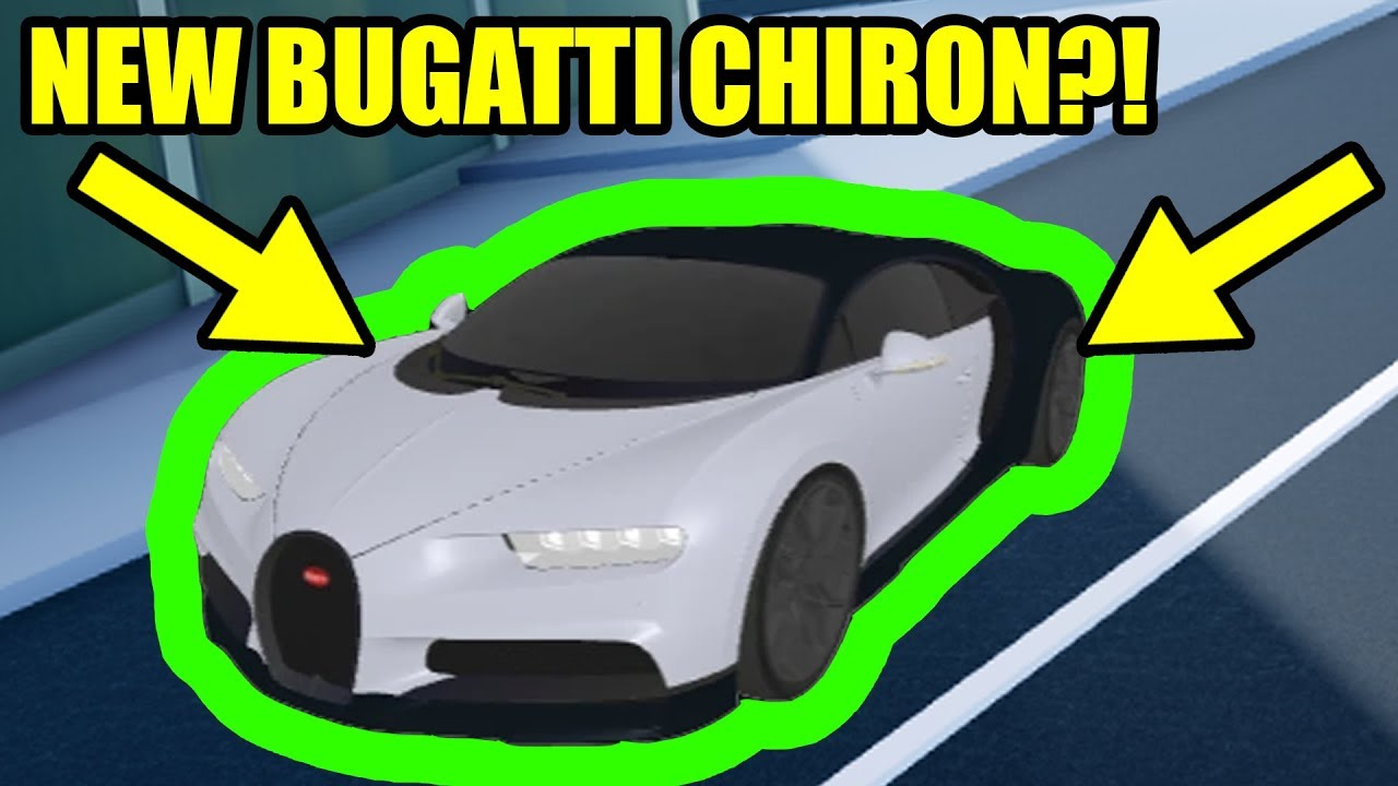 Bugatti Chiron Is Coming To Roblox Jailbreak New Update Youtube