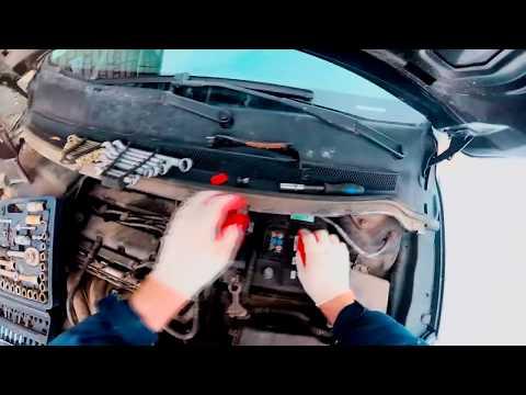 Замена главного цилиндра сцепления Форд Фокус 2 рестайлинг.Авто