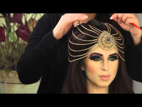 Asian Mughal Bridal Makeup Tutorial