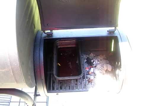 My Chargriller Grill Smoker Youtube