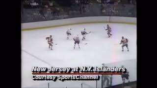 November 3 1987 Devils at Islanders highlights