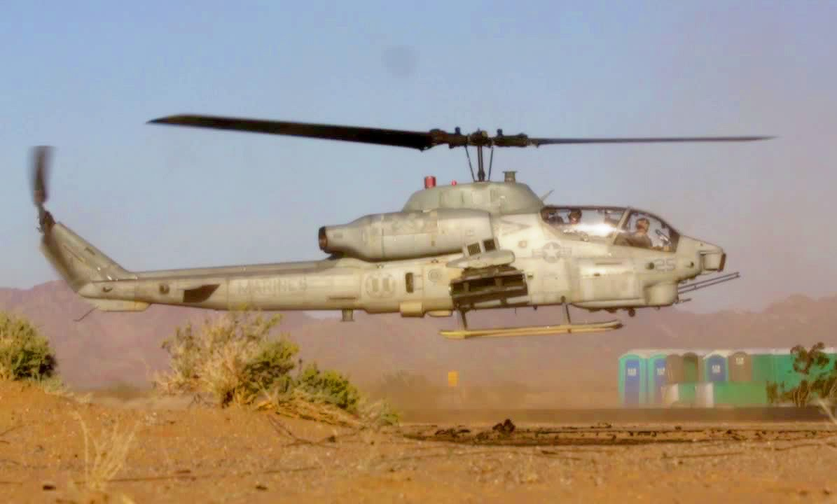 U.S. Marine Corps AH-1 Cobra Attack Helicopter ...
