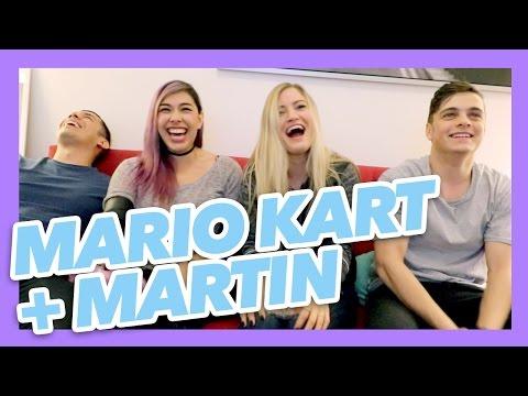 Mario Kart with Martin Garrix and iHasCupquake!
