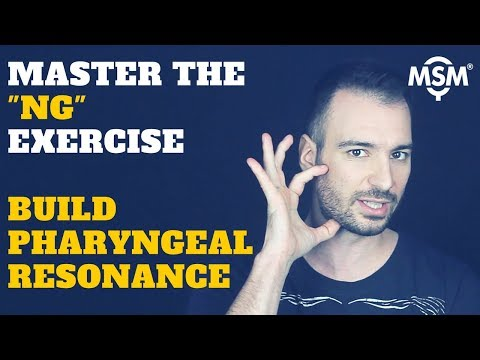 Vocal Lessons: NG Singing Exercise For Building Pharyngeal Resonance