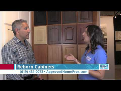 Reborn Cabinets Explains Cabinet Refacing - Approved Home Pro Show