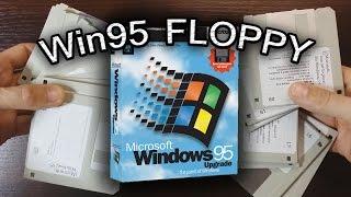 Windows 95 FLOPPY INSTALLATION 486 i  \\ Instalacja Windows 95 z dyskietek \\ 2,5 godz. instalacji