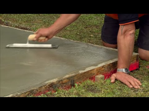 how-to-lay-a-concrete-pad-|-mitre-10-easy-as