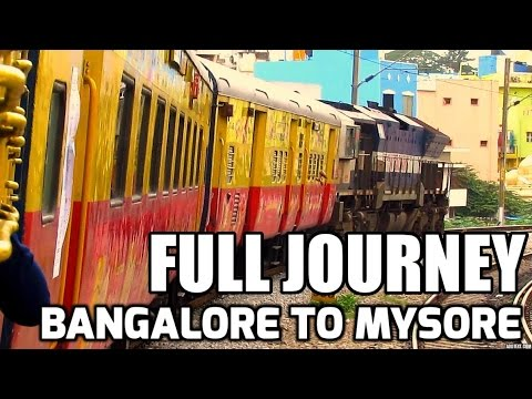 FULL JOURNEY: BANGALORE TO MYSORE (PART- I)