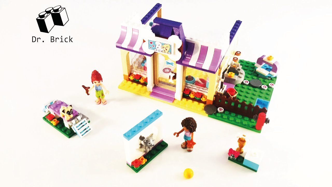 lego friends puppy championship instructions
