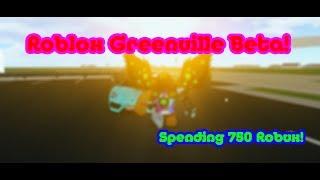 Roblox Greenville Beta | Spedning 750 Robux!
