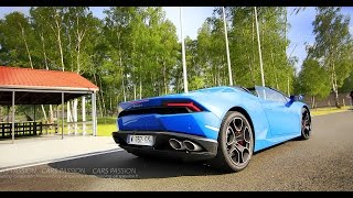 A day for two tested Lamborghini Huracan, test acceleration, we adm...