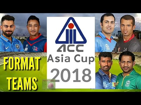 ICC Asia Cup 2018 Format Teams   ACC Asia Cup Qualifier 2018 Matches Schedule Venue ( English )