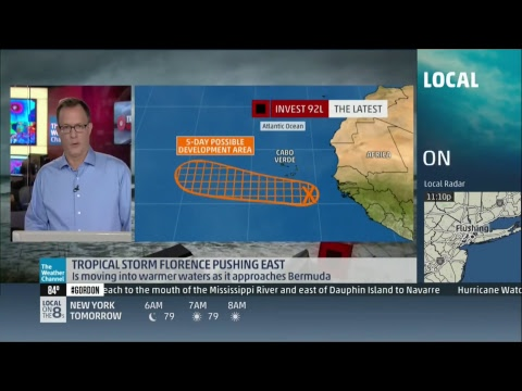Repeat The Weather Channel LIVE Coverage - Tropical Storm