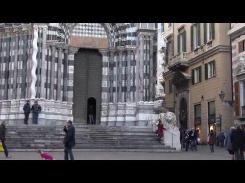 Genova, chiesa di San Lorenzo. Ripresa effettuata con Sony 4K FDR-AX100E