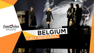 Hooverphonic - The Wrong Place - First Rehearsal - Belgium 🇧🇪 - Eurovision 2021