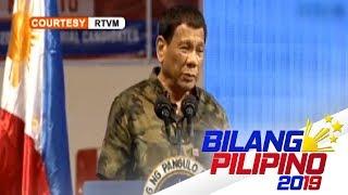 Pres. Duterte, tinawag na papuntang impyerno ang Otso Diretso