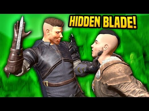HIDDEN BLADES IN VIRTUAL REALITY - Blades And Sorcery VR Mods (Update 7)