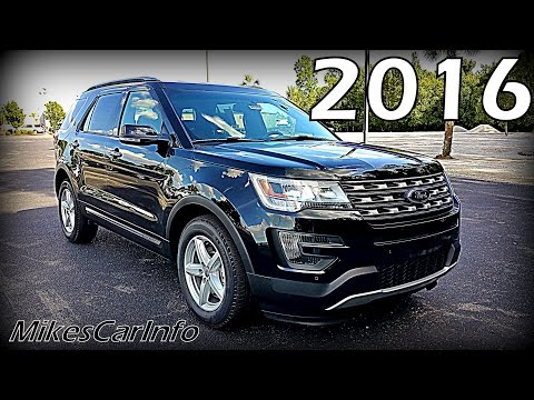 2016 Ford Explorer XLT - Ultimate In-Depth Look