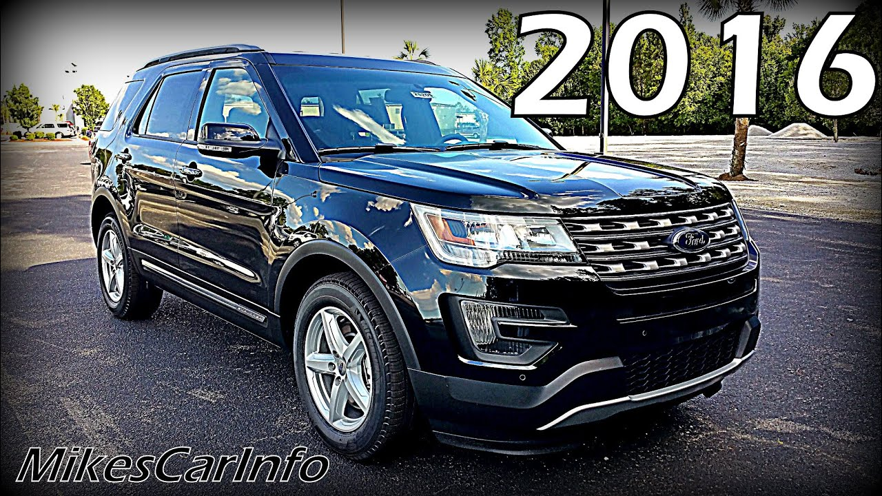2016 ford explorer xlt ultimate in depth look youtube