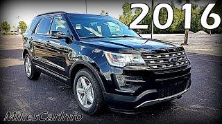 2016 ford explorer xlt ultimate in depth look