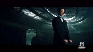 "History Channel's mini-series ""Houdini"" Teaser Trailer -- starring Adrien Brody"