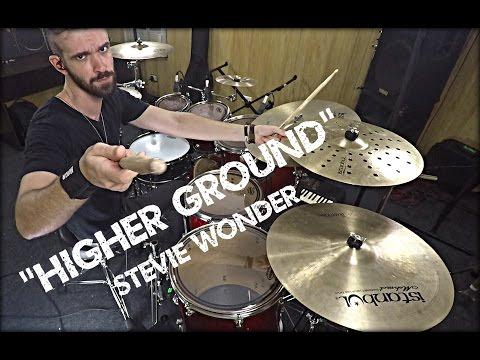 """""""HIGHER GROUND"""" - STEVIE WONDER (DRUM COVER)"""
