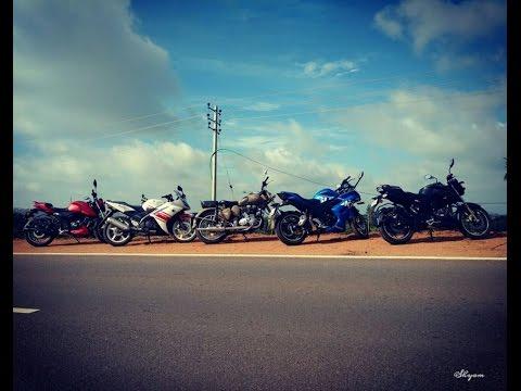 Sunday Morning Ride to Devarayana DurgaI on my Gixxer SF ! l SJ4000 Wifi