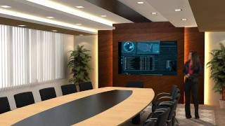 Virtual Reality Set - Conference Room