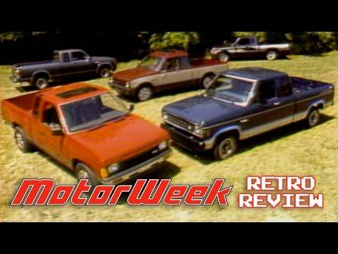 Retro Review: 1986 Compact Sport Truck Comparison