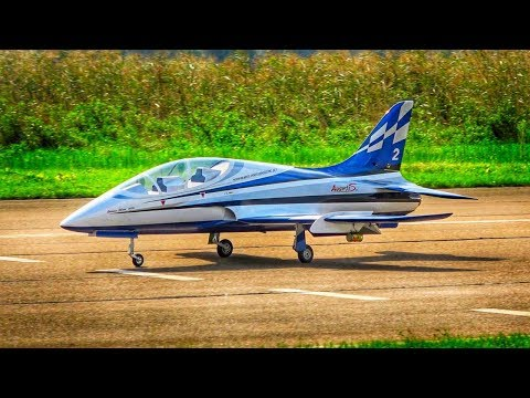GIANT SKYMASTER XXL AVANTI S RC TURBINE JET MODEL FLIGHT | SEBASTIANO SILVESTRI | JET POWER 2018