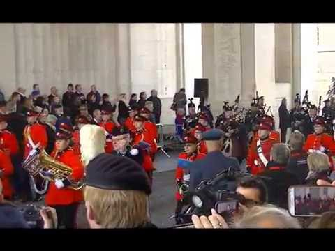 Menin Gate 11 november 2016 and Concert The Great War Remembered