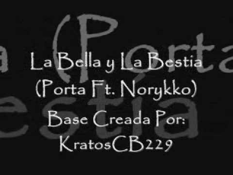 la bella y la bestia porta ft norykko