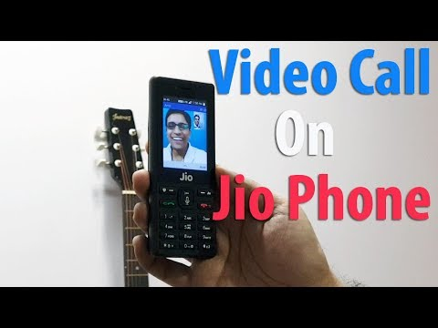 Jio Phone Video Calling Feature Quick Demo Over Jio 4G - YouTube