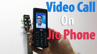 Jio Phone Video Calling Feature Quick Demo Over Jio 4G