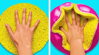Satisfying ASMR SLIME Compilation || Relaxing Slimes And Kinetic Sand || WATCH WITH SOUND ON
