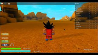 roblox dragonballz overdrive how to get fast ki