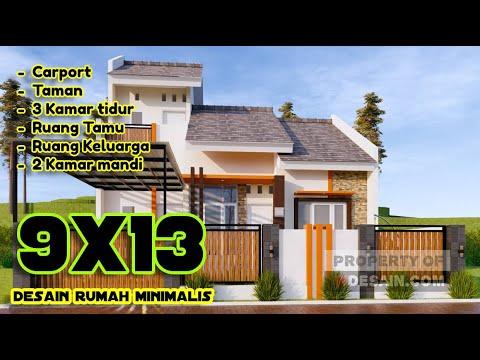 desain rumah type 36 mewah hasil renovasi - youtube