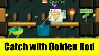 Growtopia #72   Carnival Quest Fishing using Golden Rod