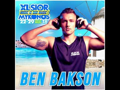 XLSIOR MYKONOS  2018 SET by DJ BEN BAKSON